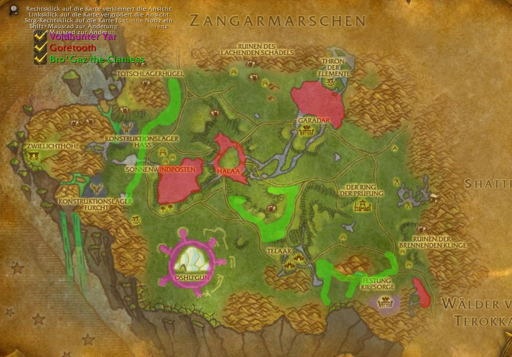 Rare Spawn Overlay World Of Warcraft Addons Interface Addons