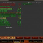 Playerscore Raiderfahrung